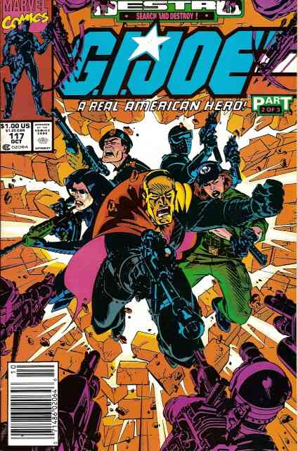 G.I. Joe, a Real American Hero comic issue 117