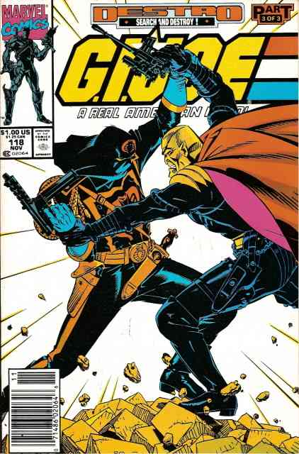 G.I. Joe, a Real American Hero comic issue 118