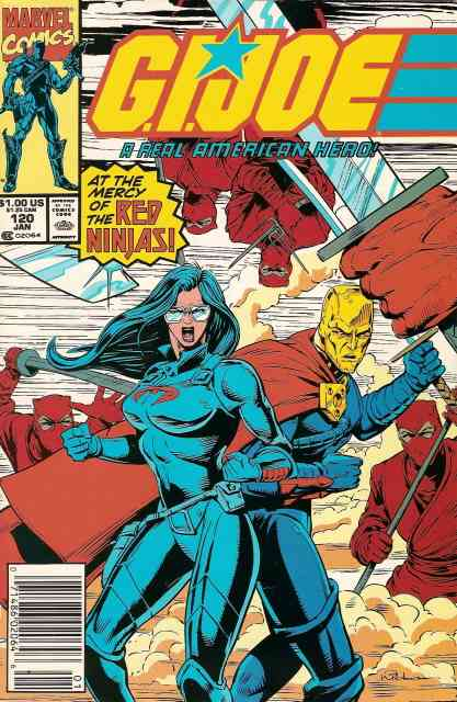 G.I. Joe, a Real American Hero comic issue 120