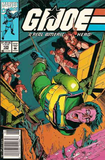 G.I. Joe, a Real American Hero comic issue 125