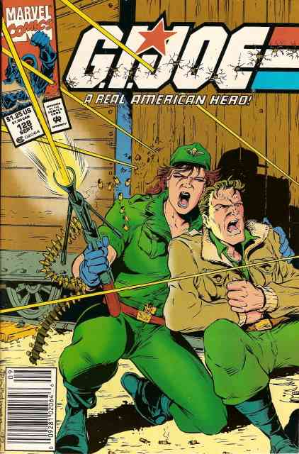 G.I. Joe, a Real American Hero comic issue 128