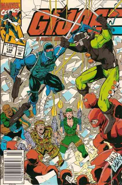 G.I. Joe, a Real American Hero comic issue 134