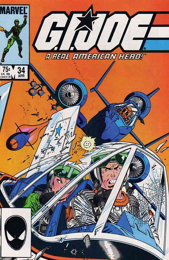 G.I. Joe, a Real American Hero comic issue 34