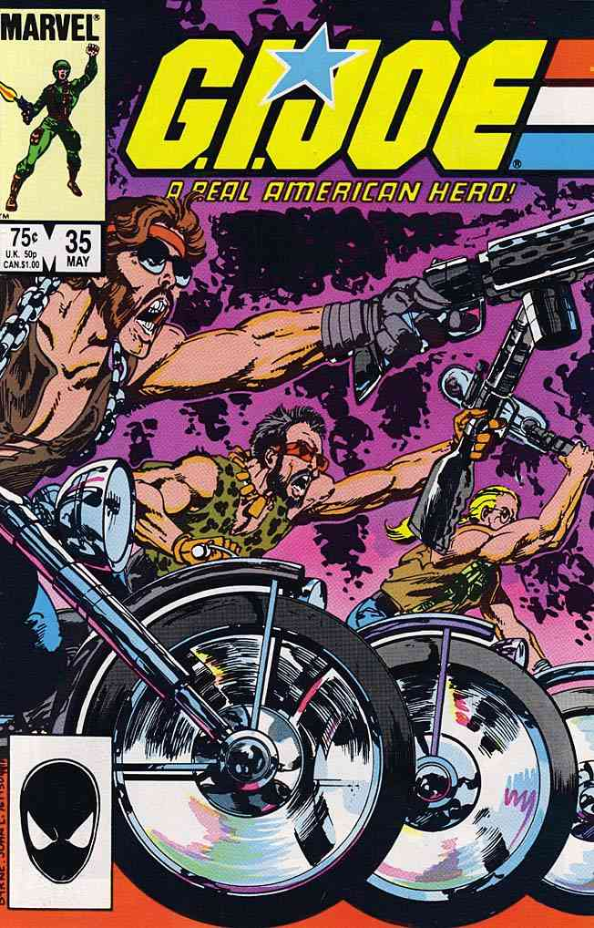 G.I. Joe, a Real American Hero comic issue 35