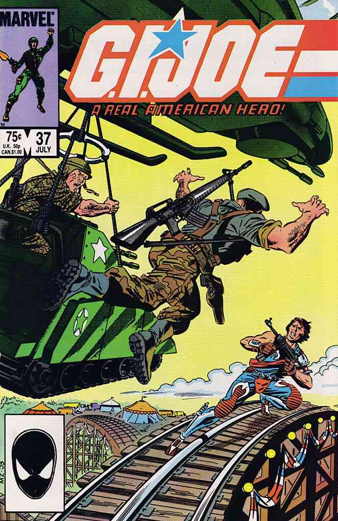 G.I. Joe, a Real American Hero comic issue 37