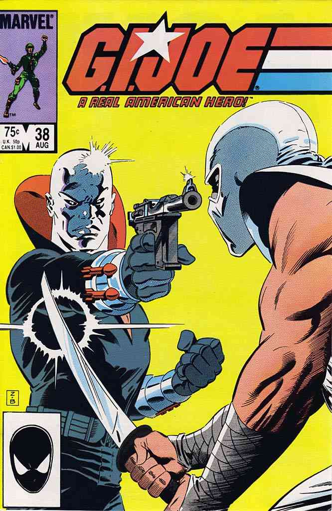 G.I. Joe, a Real American Hero comic issue 38