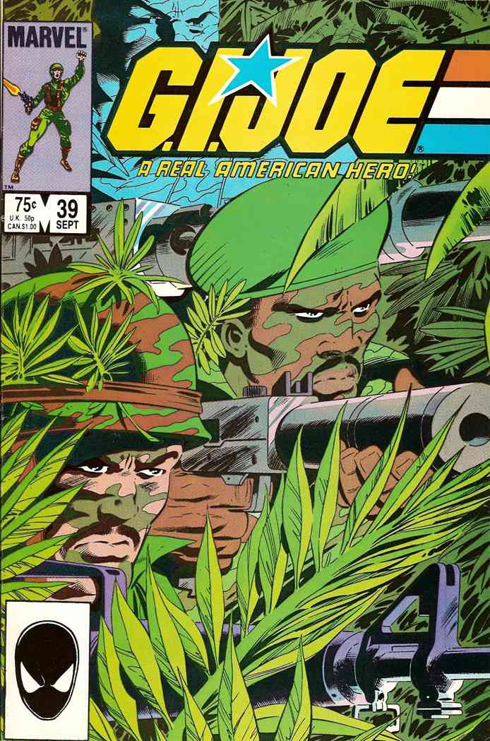 G.I. Joe, a Real American Hero comic issue 39