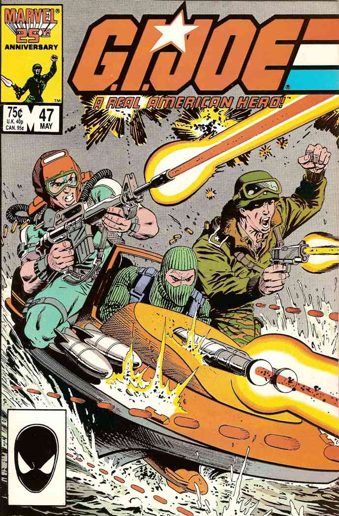G.I. Joe, a Real American Hero comic issue 47