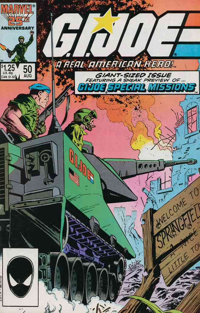G.I. Joe, a Real American Hero comic issue 50