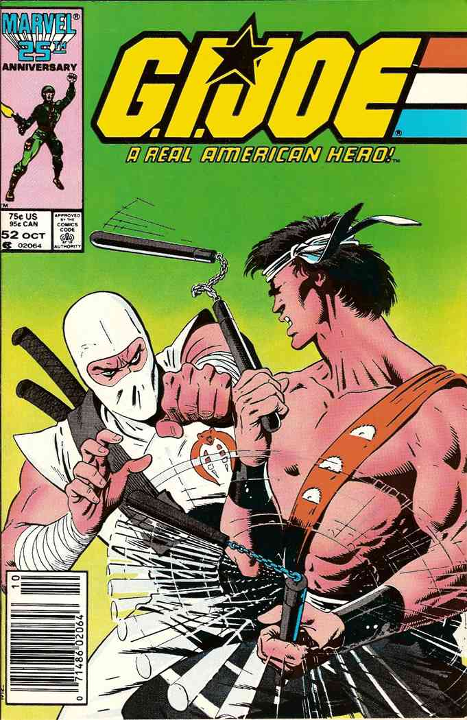 G.I. Joe, a Real American Hero comic issue 52