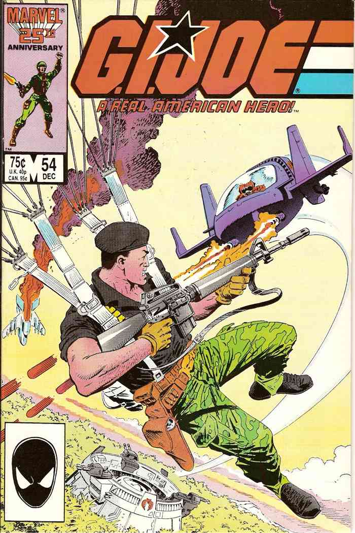 G.I. Joe, a Real American Hero comic issue 54