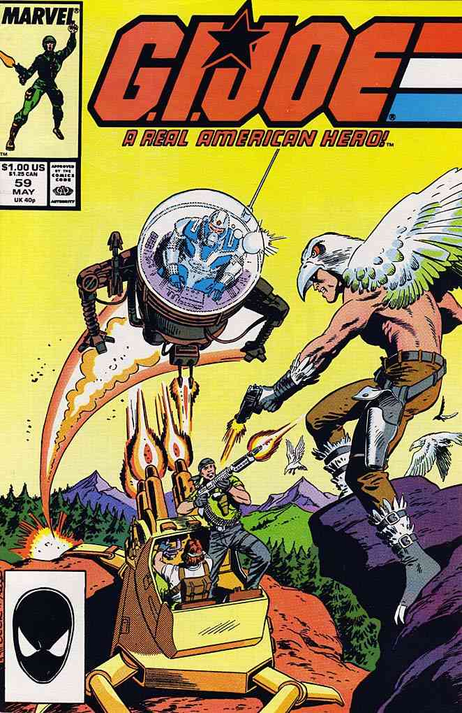 G.I. Joe, a Real American Hero comic issue 59