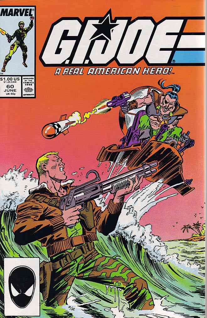 G.I. Joe, a Real American Hero comic issue 60