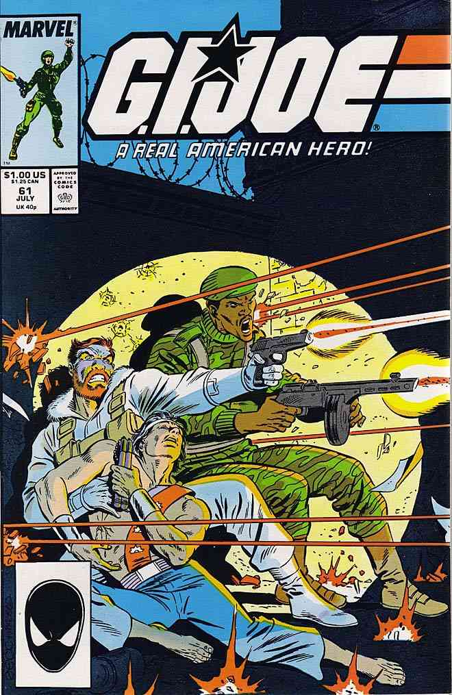 G.I. Joe, a Real American Hero comic issue 61