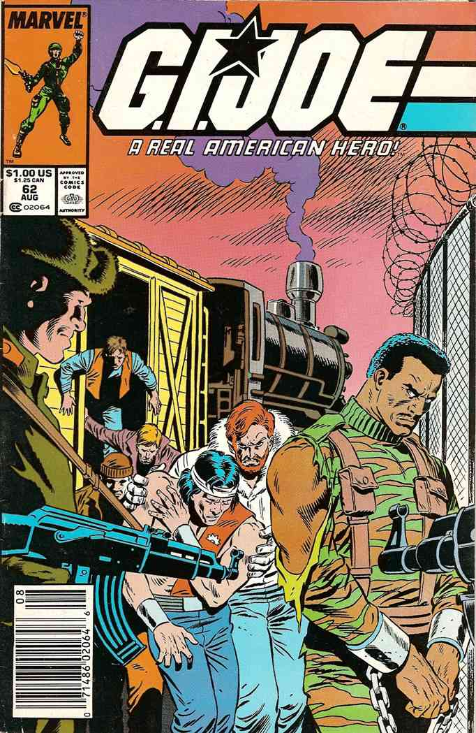 G.I. Joe, a Real American Hero comic issue 62