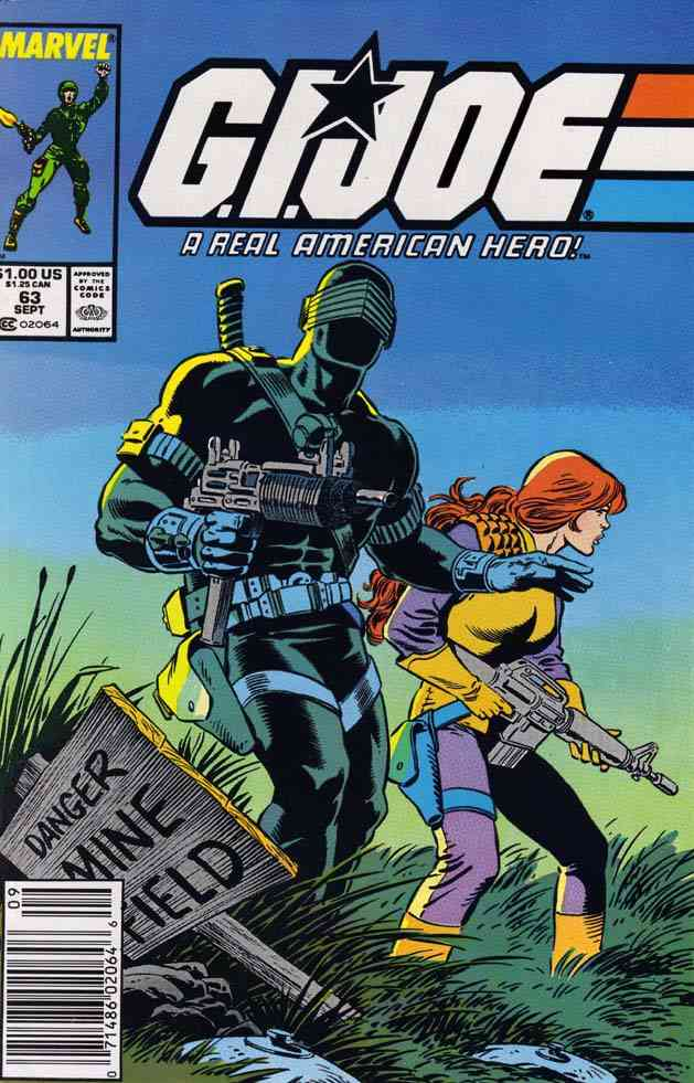 G.I. Joe, a Real American Hero comic issue 63