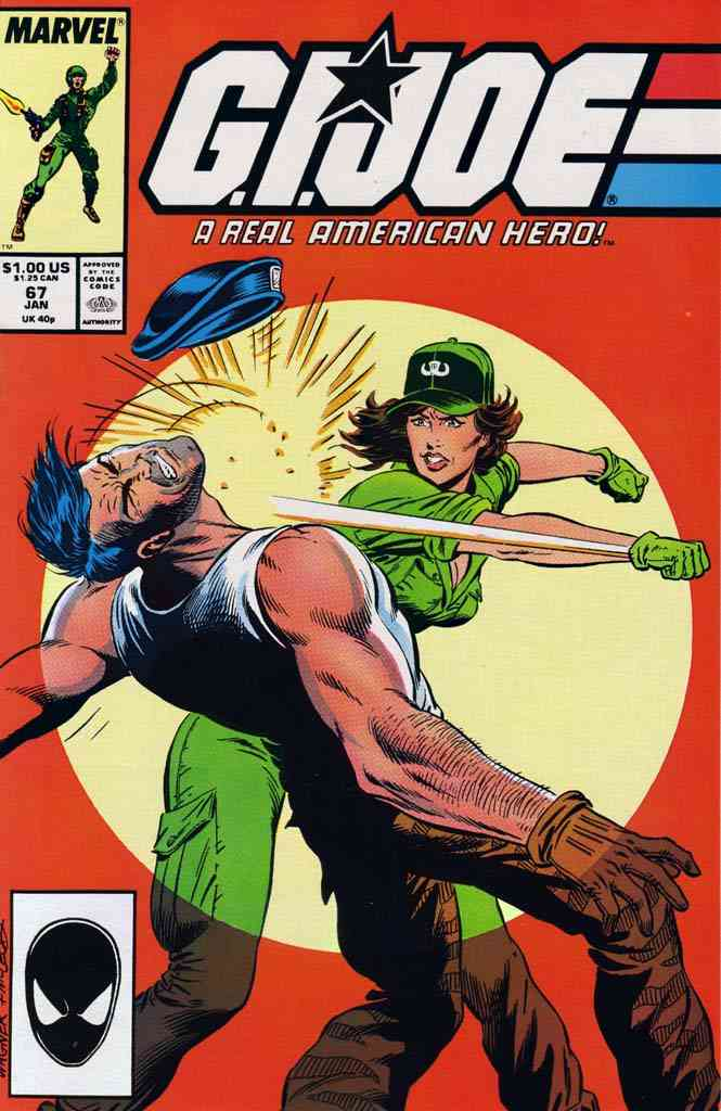 G.I. Joe, a Real American Hero comic issue 67