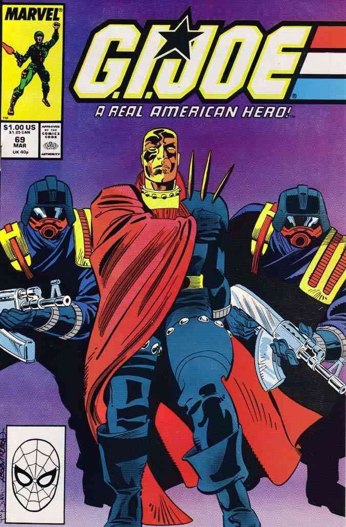 G.I. Joe, a Real American Hero comic issue 69