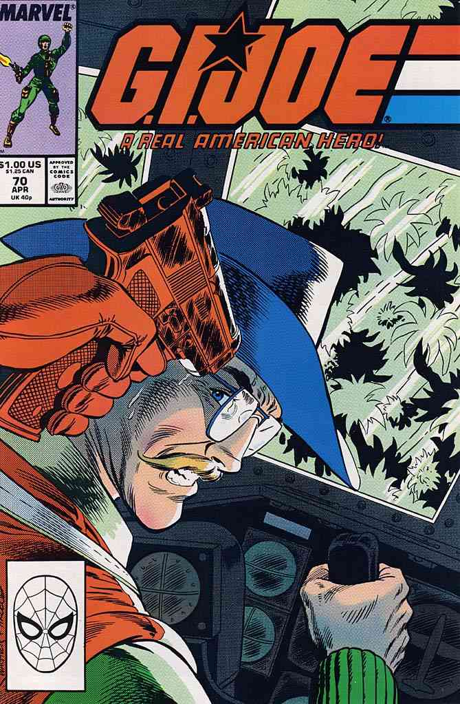 G.I. Joe, a Real American Hero comic issue 70