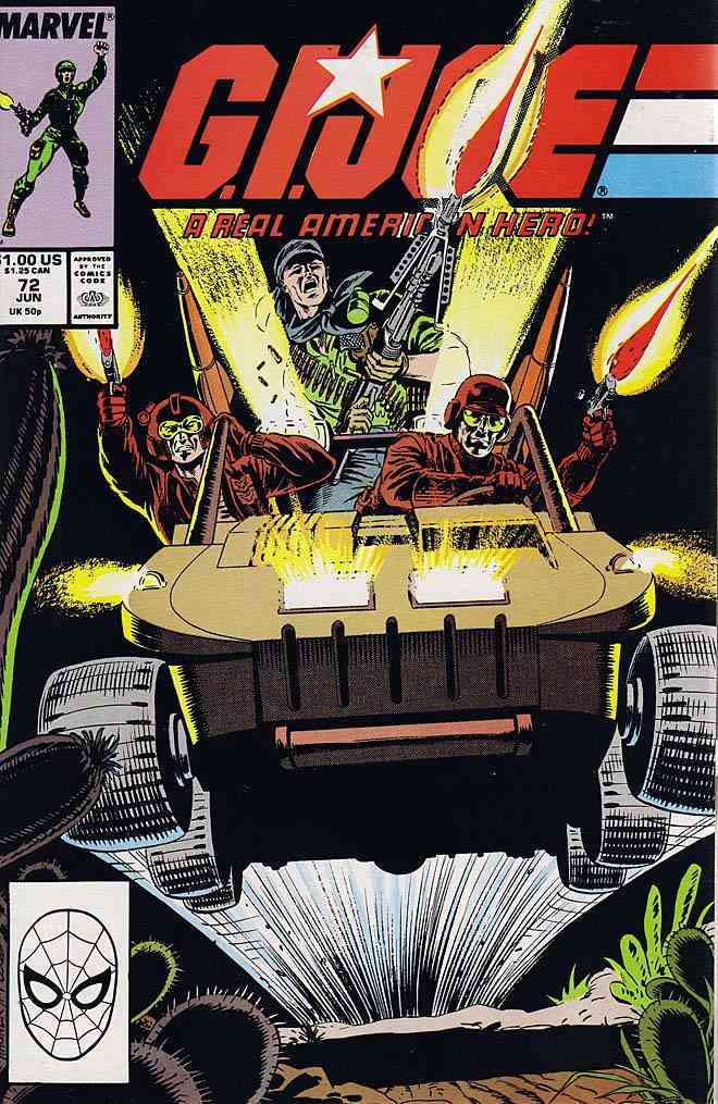 G.I. Joe, a Real American Hero comic issue 72