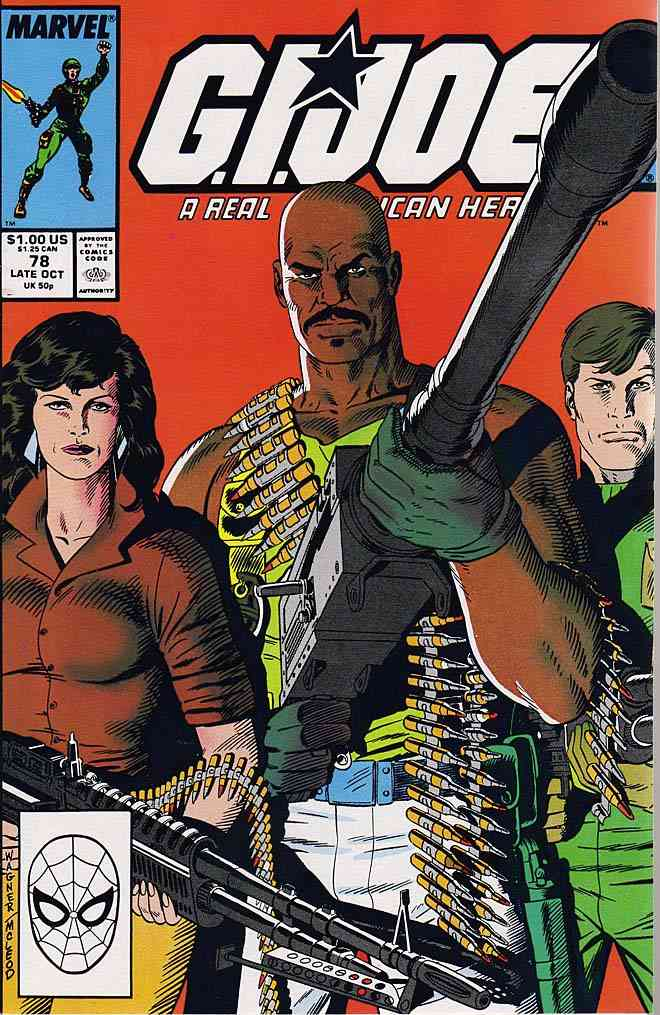 G.I. Joe, a Real American Hero comic issue 78
