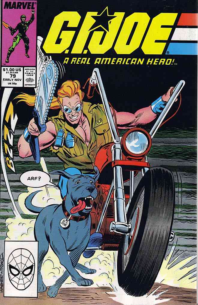 G.I. Joe, a Real American Hero comic issue 79