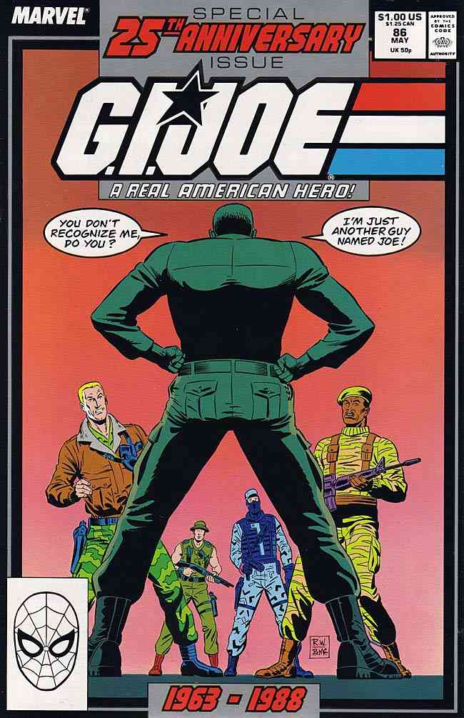 G.I. Joe, a Real American Hero comic issue 86