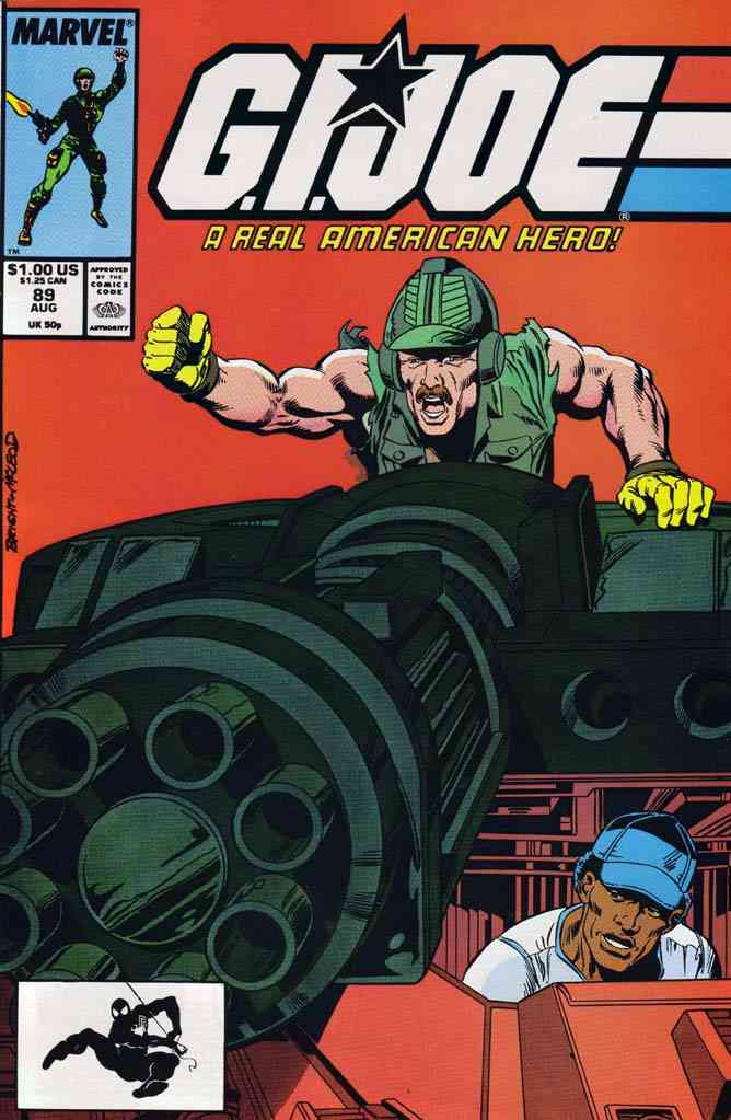 G.I. Joe, a Real American Hero comic issue 89
