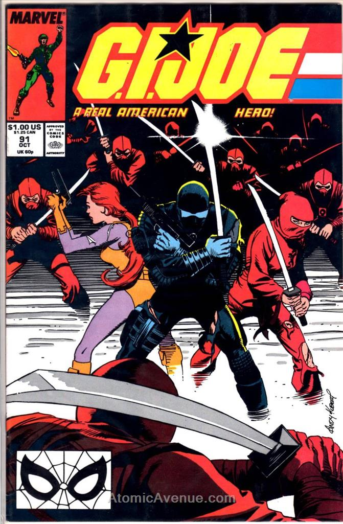 G.I. Joe, a Real American Hero comic issue 91