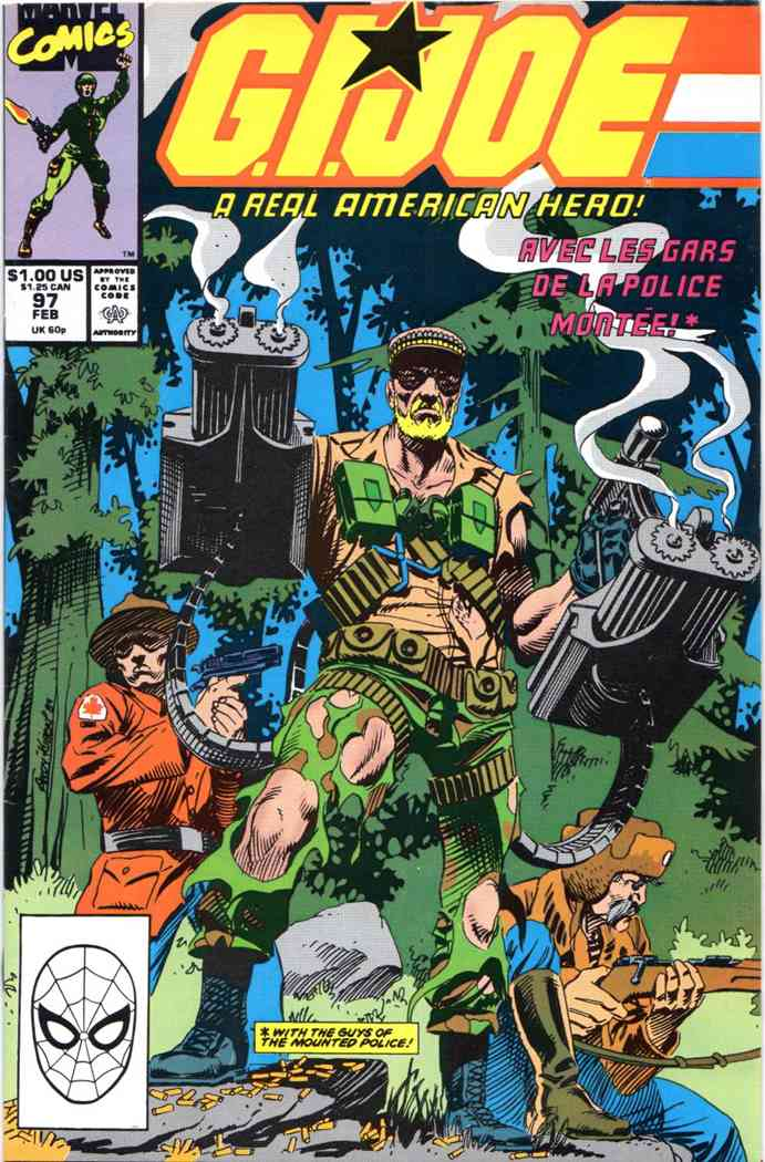 G.I. Joe, a Real American Hero comic issue 97