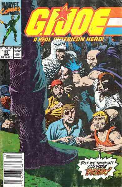 G.I. Joe, a Real American Hero comic issue 98