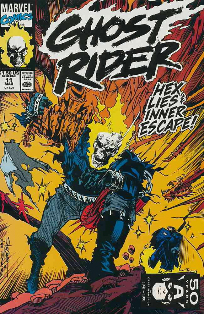 Ghost Rider (Vol. 2) comic issue 11