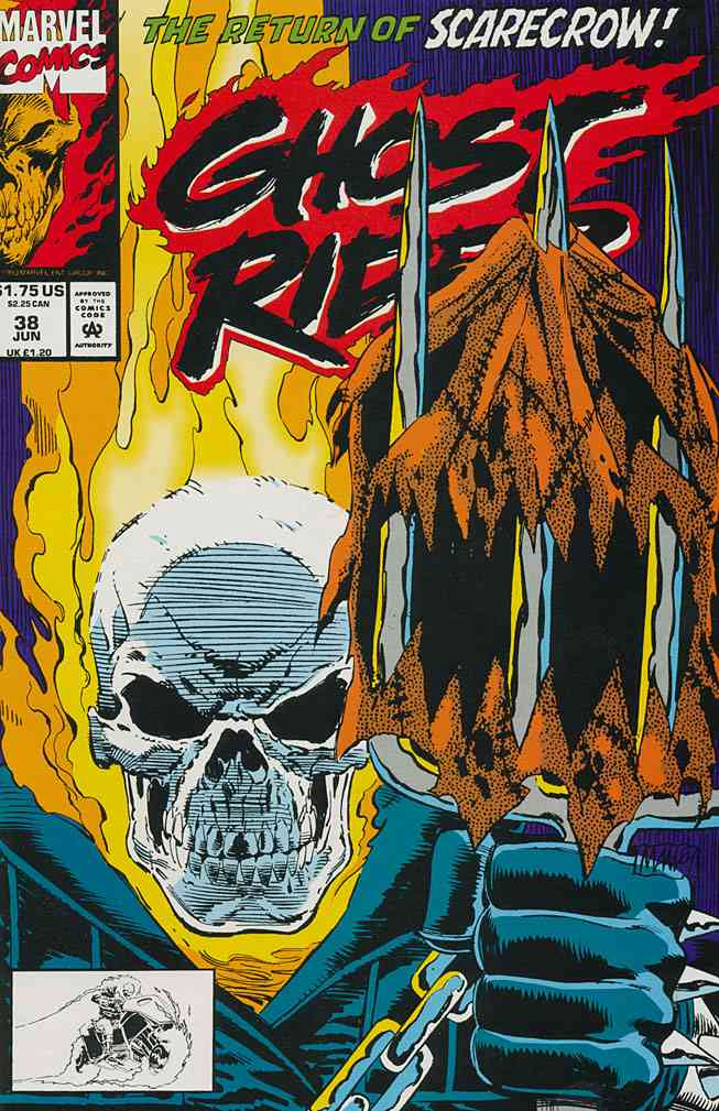Ghost Rider (Vol. 2) comic issue 38