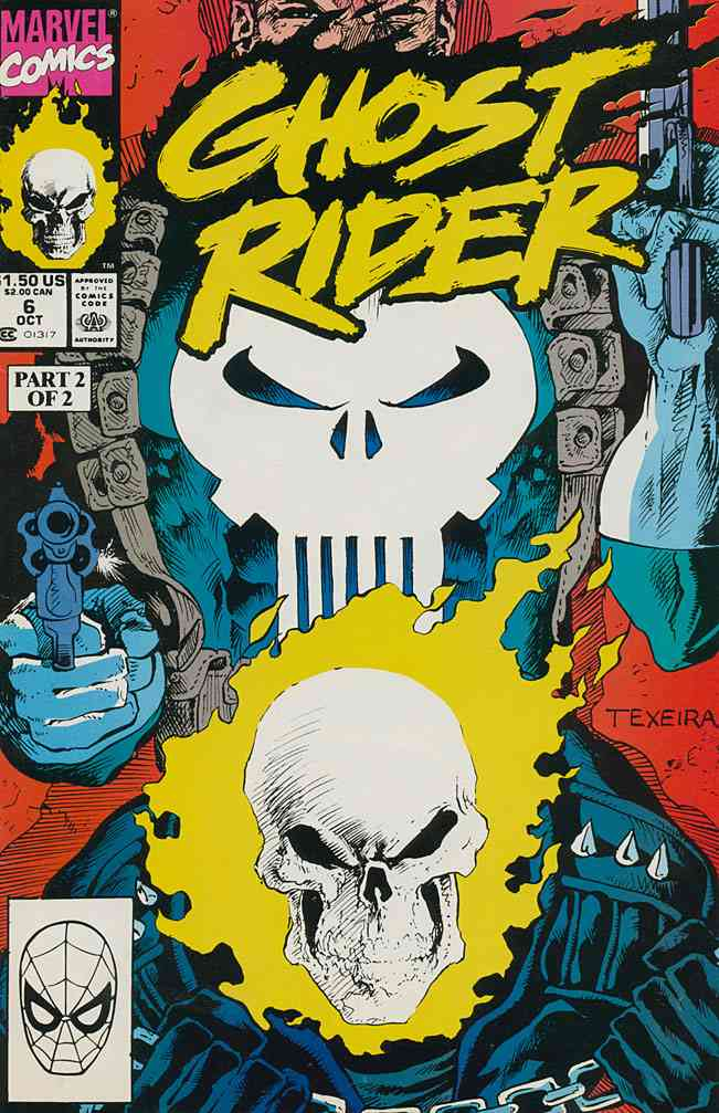Ghost Rider (Vol. 2) comic issue 6
