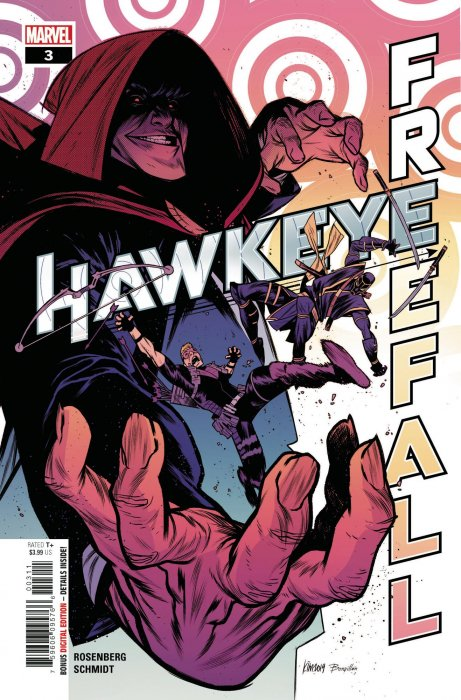 Hawkeye: Free Fall comic issue 3