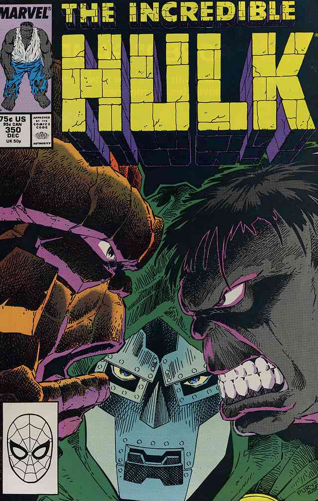 Incredible Hulk, The comic issue 350