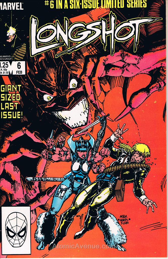 Longshot comic issue 6