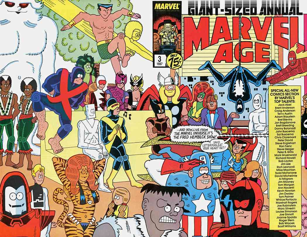 Marvel Age comic issue 3