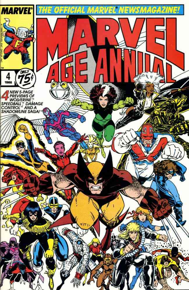 Marvel Age comic issue 4