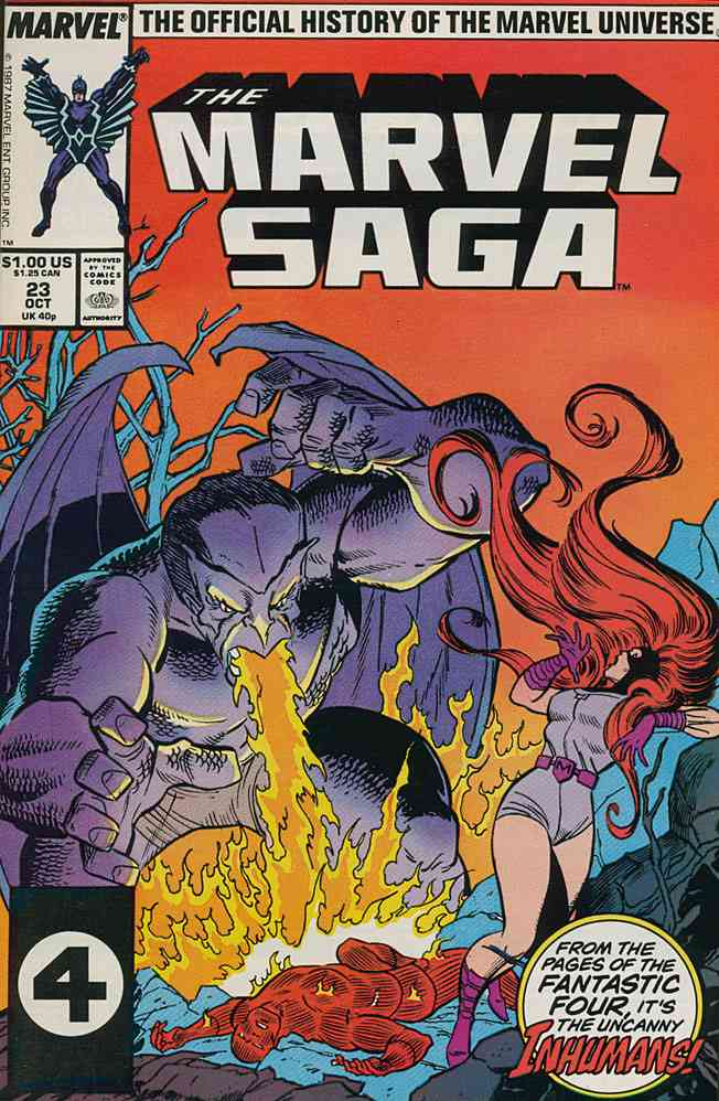 Marvel Saga comic issue 23