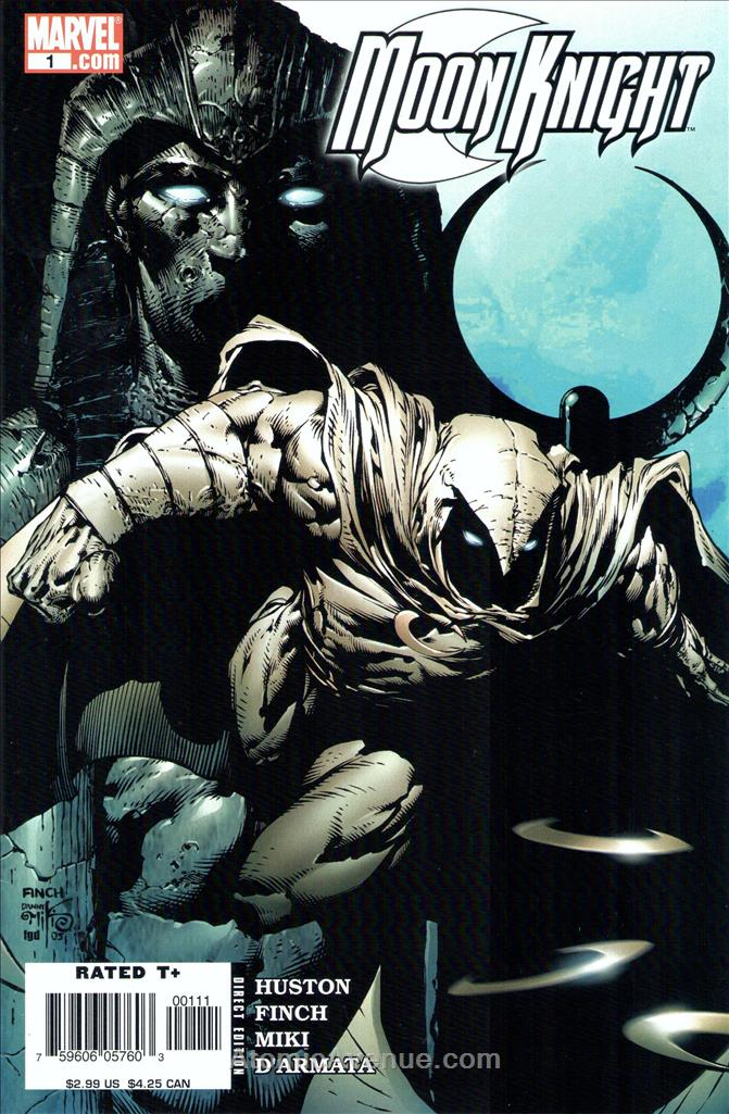 Moon Knight (5th Series) comic issue 1