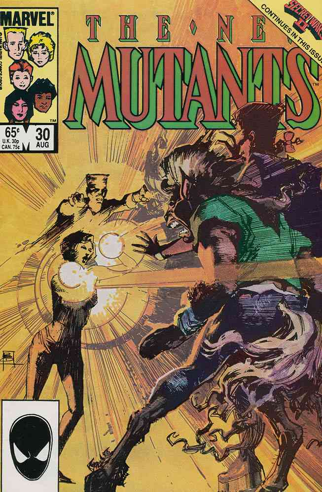 New Mutants, The comic issue 30