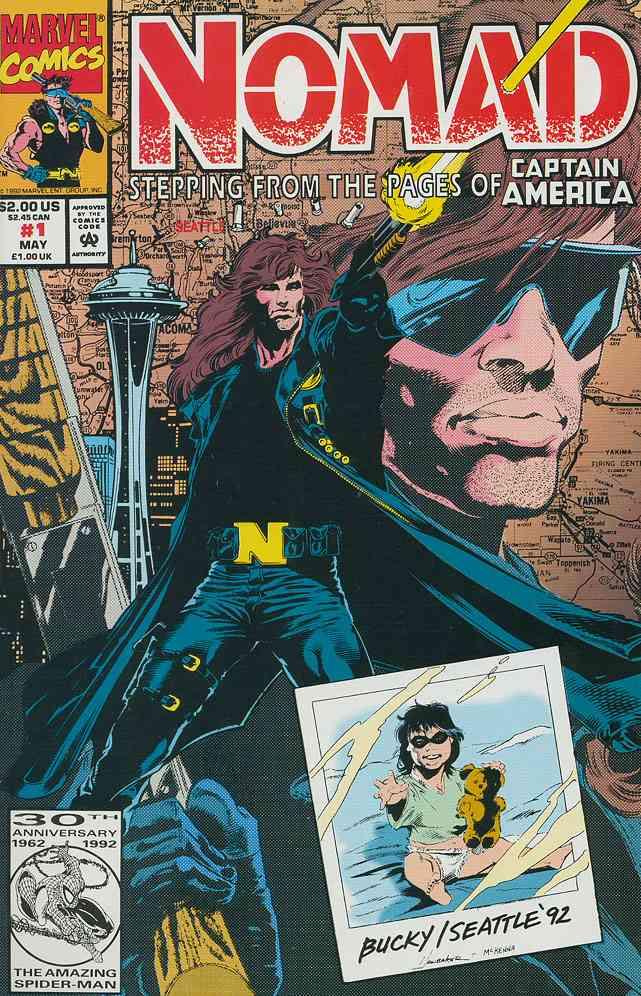 Nomad comic issue 1