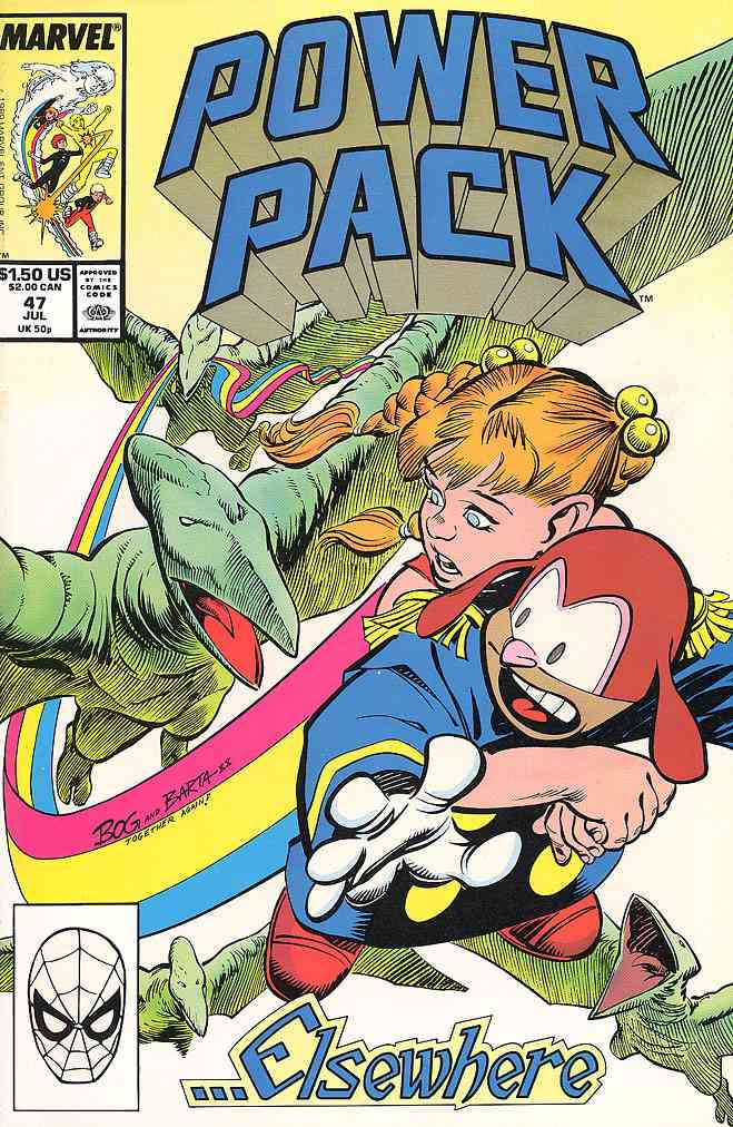 Power Pack comic issue 47