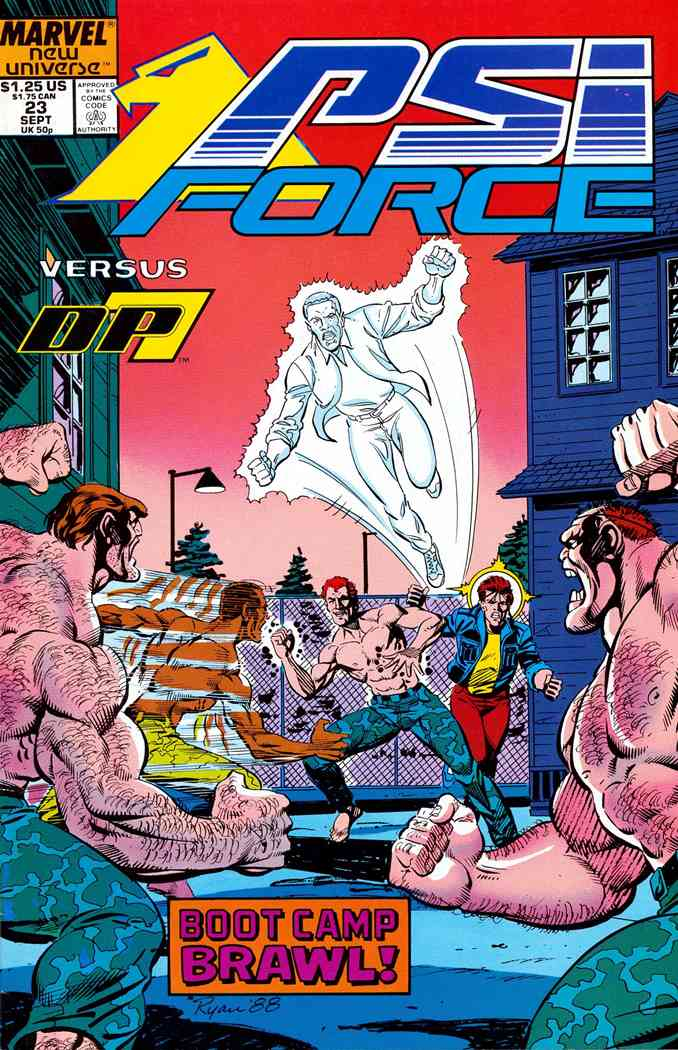 Psi-Force comic issue 23