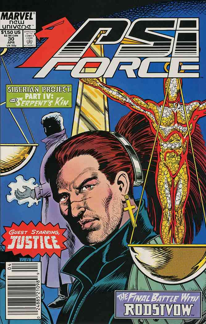 Psi-Force comic issue 30