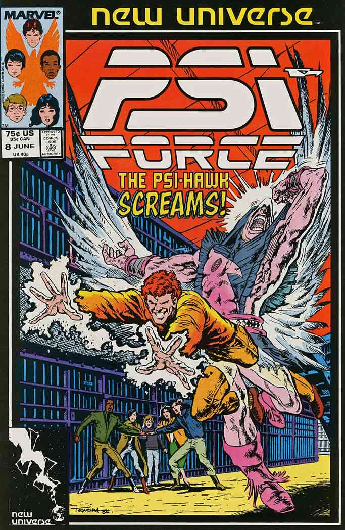Psi-Force comic issue 8