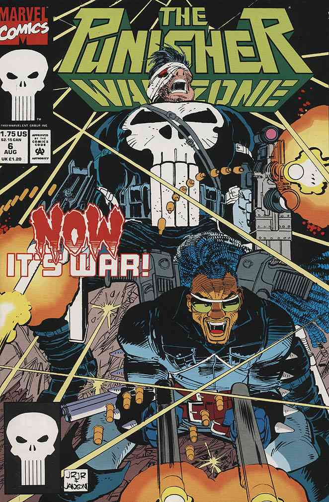Punisher, The: War Zone comic issue 6