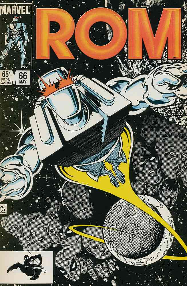 ROM comic issue 66