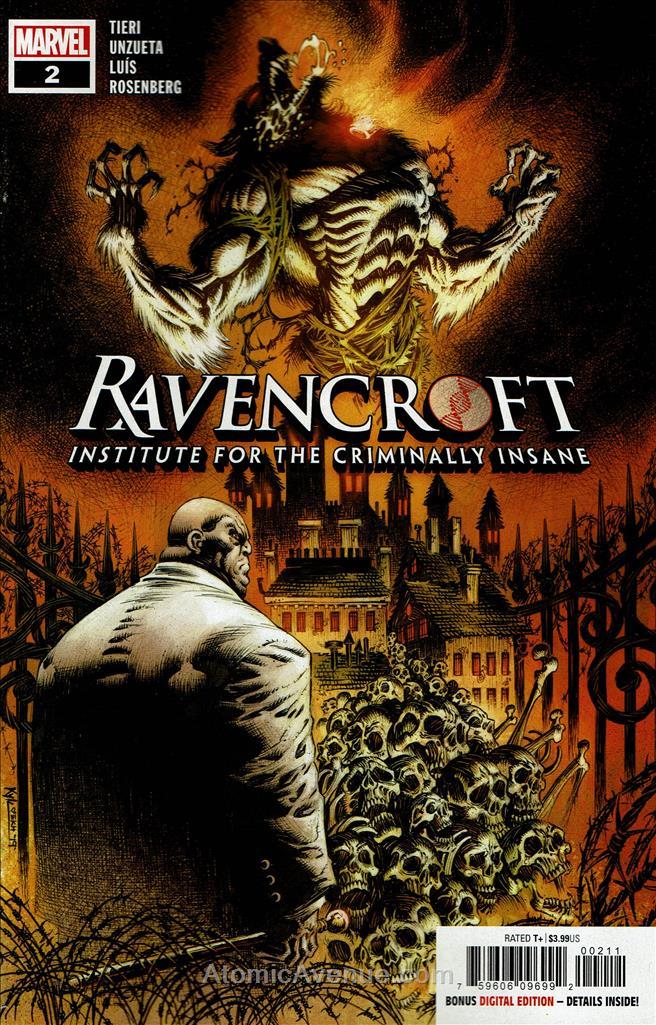 Ravencroft comic issue 2